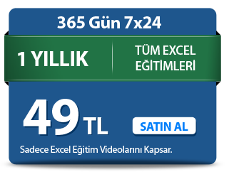 Excel Videoları