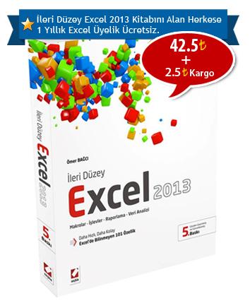İleri Düzey Excel 2013