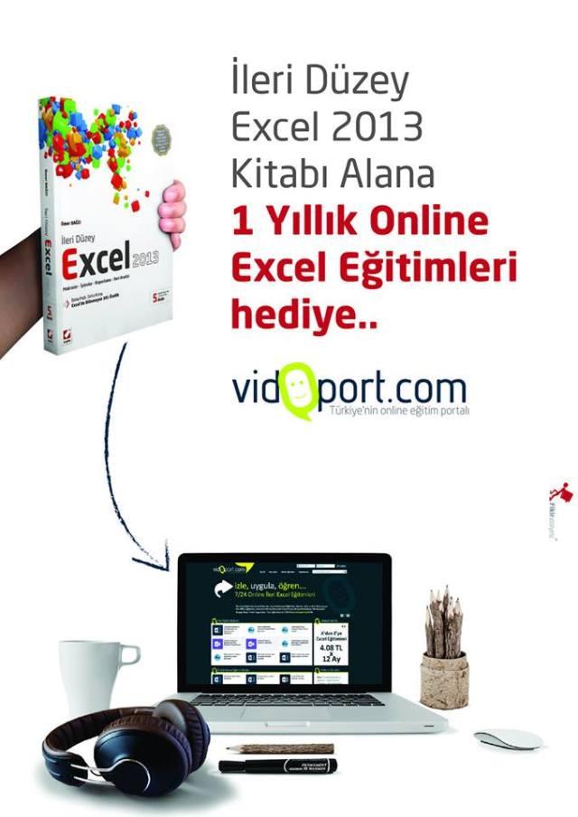 En iyi Excel Kitabı İleri Düzey Excel 2013 Online Excel Kitabı Hediyeli