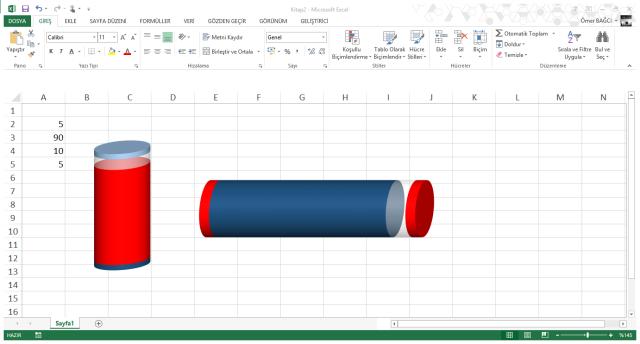 Microsoft Office Excelde grafik nasıl oluşturulur