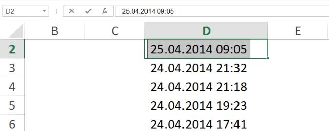 İleri Excel Eğitimleri -Kırp İşlevi