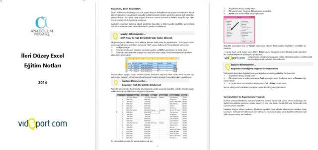 İstanbul İleri Excel Eğitimleri