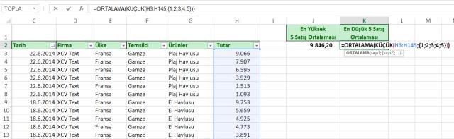 Ömer BAĞCI-İleri Düzey Excel Eğitimleri