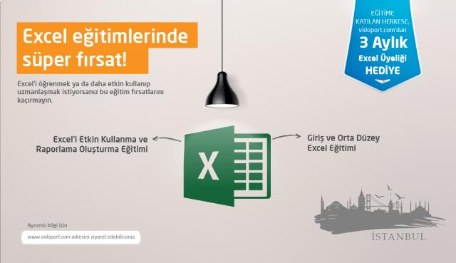 İstanbul Giriş ve Orta Düzey Excel Eğitimi