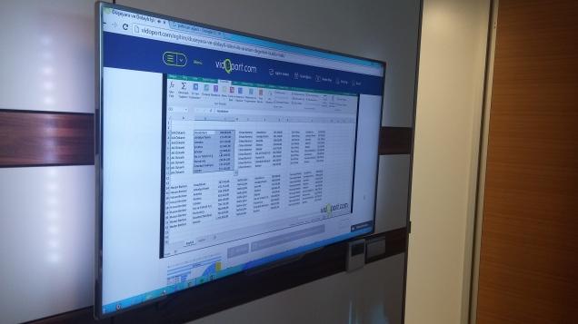 vidoport.com Online Excel Sitesi