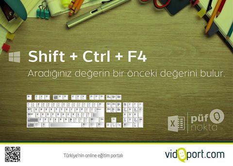 Excel_kisayollar_arama
