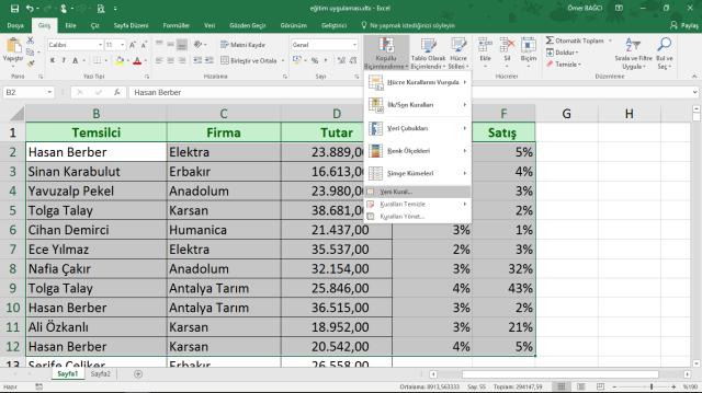 Excel koşulu Biçimlendirme-3 vidoport.com.png
