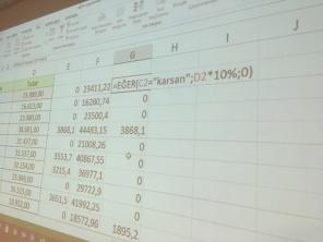 EKU Fren İleri Düzey Excel Eğitimleri