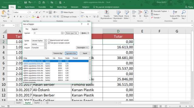 Excel bilinmeyenler kısayollar vidoport.com
