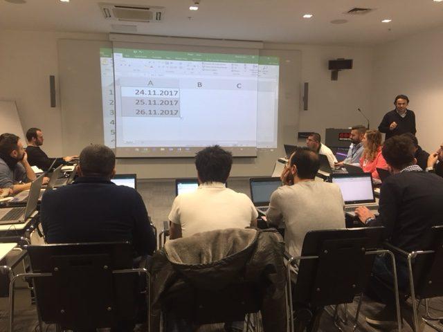 İleri Excel eğitimi İstanbul, Ömer BAĞCI Excel eğitimleri