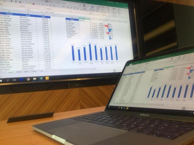 KTM Kimyasalları İleri Excel